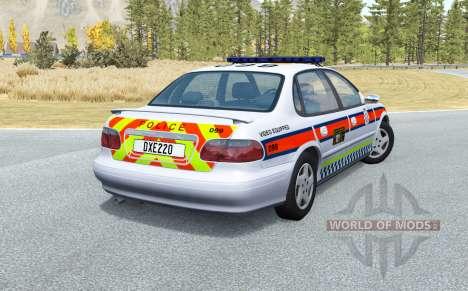 Ibishu Pessima British Police v0.4 для BeamNG Drive