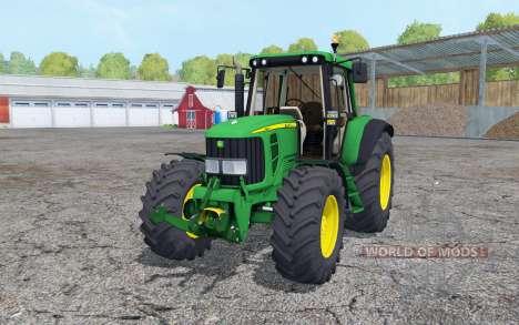 John Deere 6320 2002 для Farming Simulator 2015