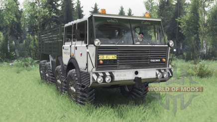 Tatra T813 TP 8x8 1967 Kings Off-Road 2 v1.1 для Spin Tires