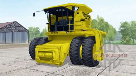 New Holland TR99 dual front wheels для Farming Simulator 2017