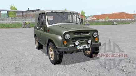 УАЗ-469 для Farming Simulator 2017