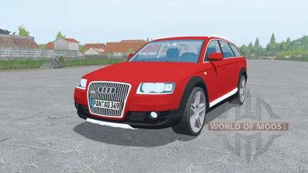 Audi A6 Allroad quattro (C6) 2006 для Farming Simulator 2017