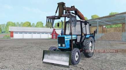 МТЗ 82.1 Беларус грейфер для Farming Simulator 2015