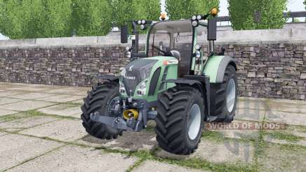 Fendt 714 Vario SCR choice of wheels для Farming Simulator 2017