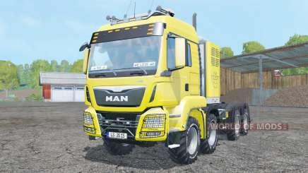 MAN TGS 8x8 tractor для Farming Simulator 2015