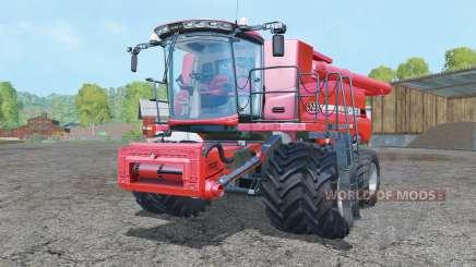 Case IH Axial-Flow 9230 dual front wheels для Farming Simulator 2015