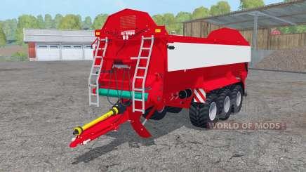 Krampe Bandit 800 fruit varieties для Farming Simulator 2015
