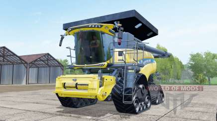 New Holland CR10.90 crawler modules для Farming Simulator 2017