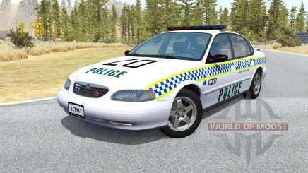 Ibishu Pessima Australian Police v0.3 для BeamNG Drive