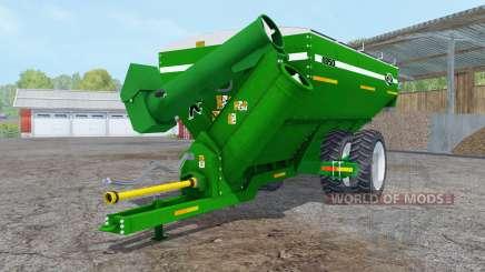 Kinze 1050 green row crop duals для Farming Simulator 2015