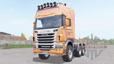 Scania R730 Toplinᶒ для Farming Simulator 2017