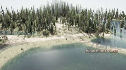 Затопленный лес 2 для MudRunner