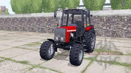 МТЗ 820 Беларуҫ для Farming Simulator 2017