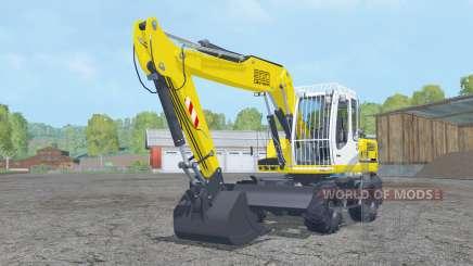 Liebherr A 900 Compact Litroniƈ для Farming Simulator 2015