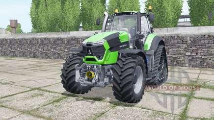 Deutz-Fahr Agrotron 9340 TTV crawler для Farming Simulator 2017