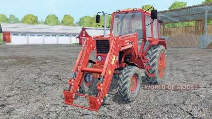 МТЗ 82 Беларус фронтальный погрузчик для Farming Simulator 2015