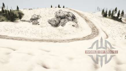 Песчаные дюны для MudRunner