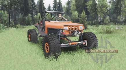 Jeep Wrangler (YJ) 40OZ Juggy для Spin Tires