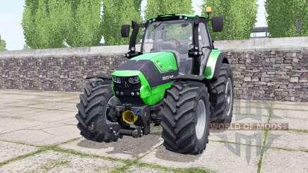 Deutz-Fahr Agrotron 6190 TTV wheels selection для Farming Simulator 2017