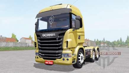 Scania R480 Highline для Farming Simulator 2017