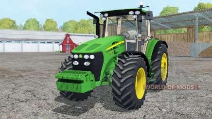 John Deere 7730 wheels weights для Farming Simulator 2015