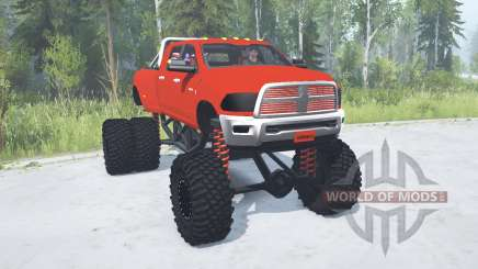 Dodge Ram 3500 Heavy Duty lifted для MudRunner