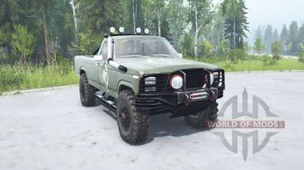 Ford F-150 Rangeᶉ 1982 lifted для MudRunner