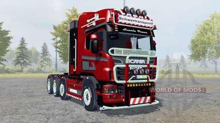 Scania R560 8x8 Topline Heavy Duty для Farming Simulator 2013