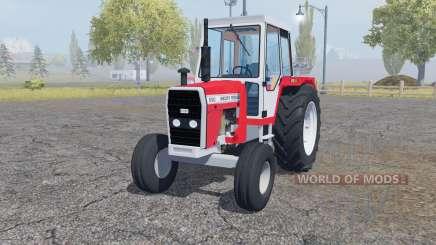 Massey Ferguson 690 front loader для Farming Simulator 2013