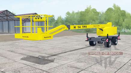 Haulotte H14 TPX для Farming Simulator 2017