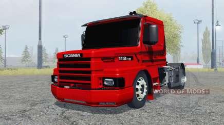 Scania T112HW 4x4 для Farming Simulator 2013