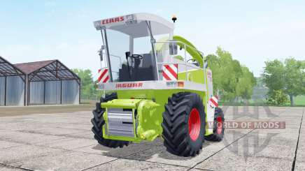 Claas Jaguar 880 with cutter Orbis 750 для Farming Simulator 2017