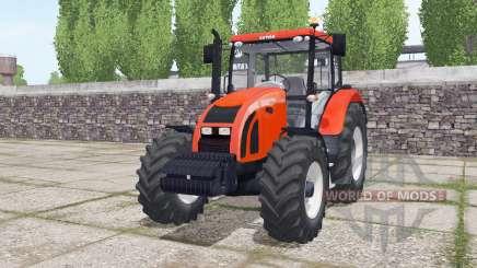 Zetor Forterra 11441 real exhaust smoke для Farming Simulator 2017