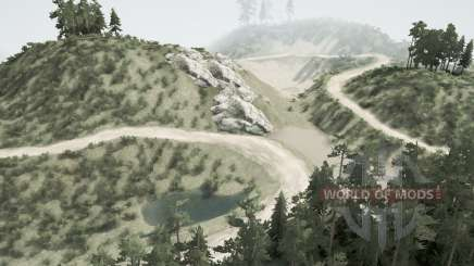 Заброшенные шахты v1.2 для MudRunner
