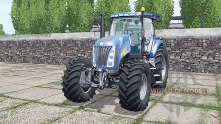 New Holland TG285 Michelin tyres для Farming Simulator 2017