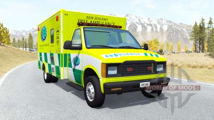 Gavril H-Series Ambulance New Zealand v0.3.2 для BeamNG Drive