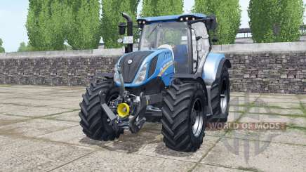 New Holland T6.140 new real sounds для Farming Simulator 2017