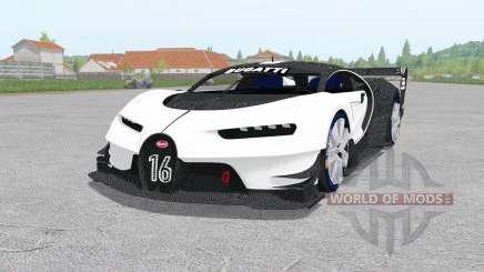 Bugatti Vision Gran Turismo 2015 для Farming Simulator 2017