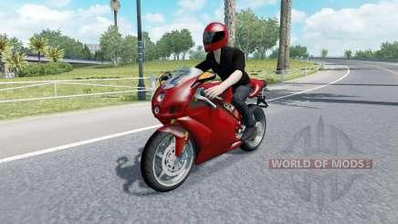 Мотоциклетный трафик v2.3 для American Truck Simulator