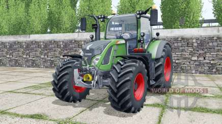 Fendt 712 Vario wheels selection для Farming Simulator 2017