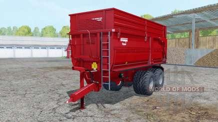 Krampe Big Body 650 S для Farming Simulator 2015
