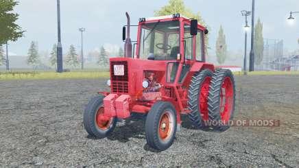 МТЗ 80 Беларус анимированные элементы для Farming Simulator 2013