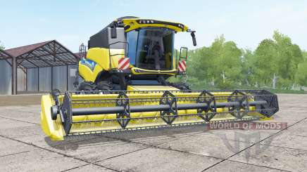 New Holland CR5.85 evo для Farming Simulator 2017