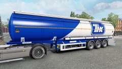 Полуприцеп-цистерна для Euro Truck Simulator 2