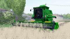 John Deere 1550 crawler modules для Farming Simulator 2017
