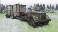 ГАЗ 63П 1958 для Spin Tires