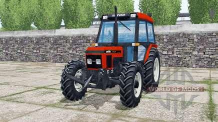 Zetor 7340 Turbo 1995 для Farming Simulator 2017