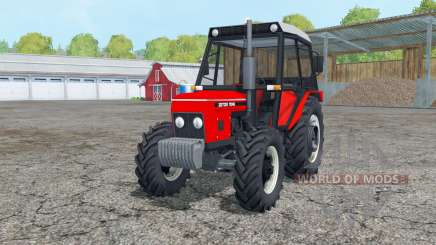 Zetor 7045 extra weight для Farming Simulator 2015