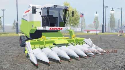 Claas Mega 370 TerraTrac moderate green для Farming Simulator 2013