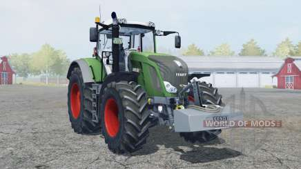 Fendt 828 Vario with weight для Farming Simulator 2013